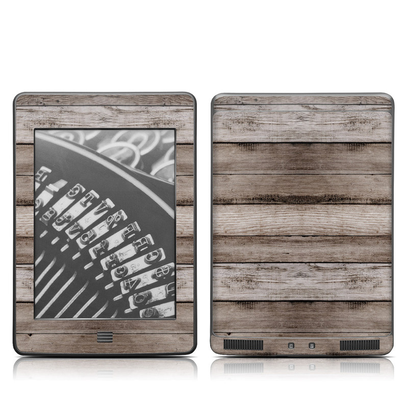Barn Wood Amazon Kindle Touch Skin