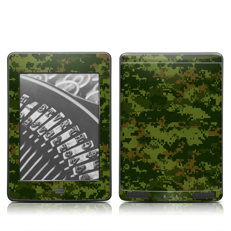 CAD Camo Amazon Kindle Touch Skin