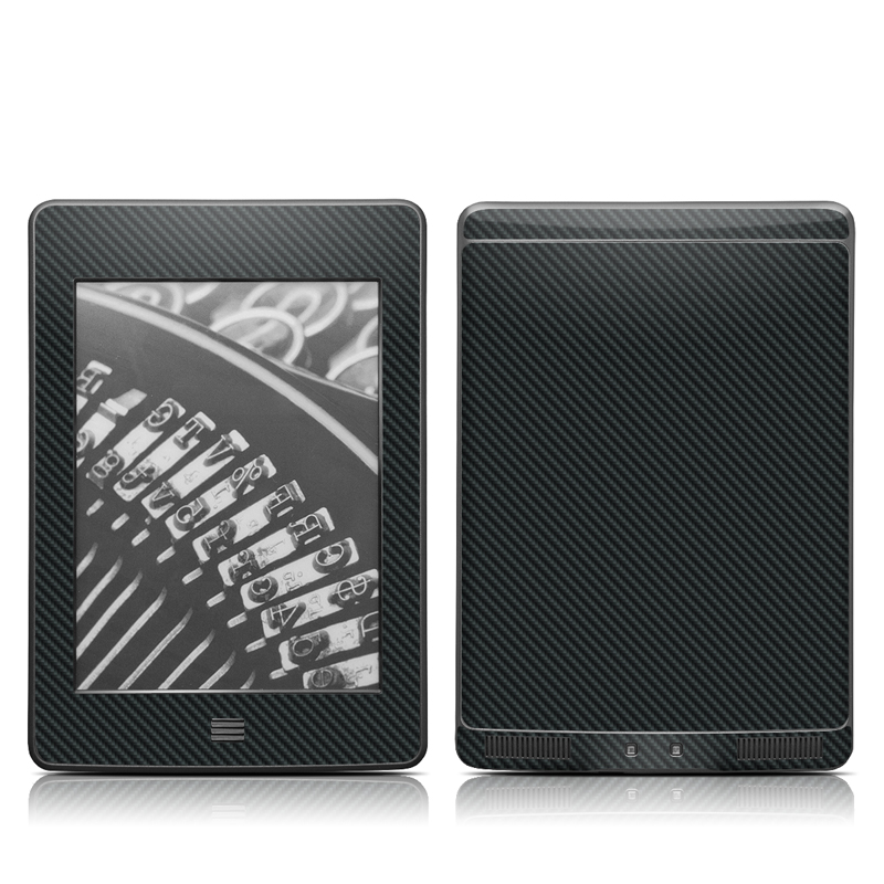 Carbon Amazon Kindle Touch Skin