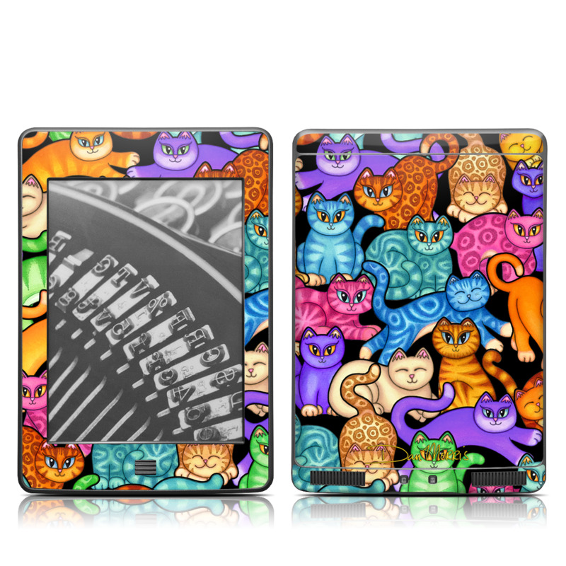 Colorful Kittens Amazon Kindle Touch Skin