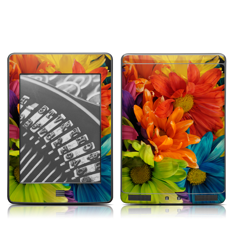 Colours Amazon Kindle Touch Skin