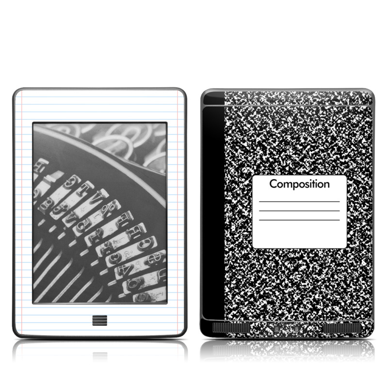 Composition Notebook Amazon Kindle Touch Skin