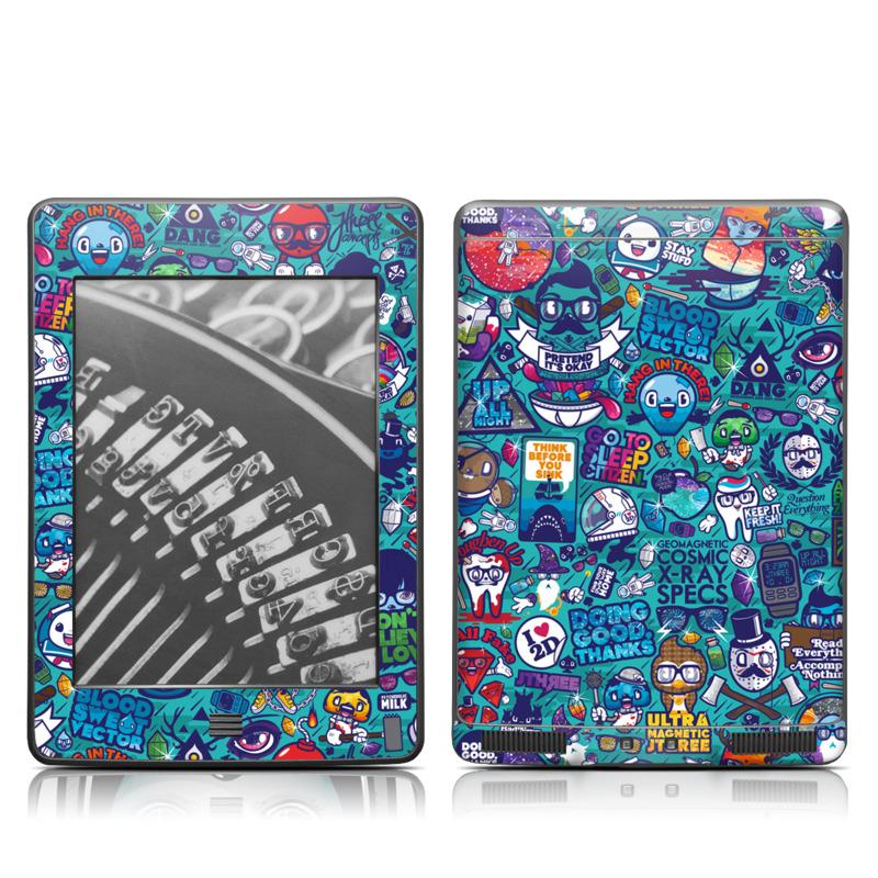 Cosmic Ray Amazon Kindle Touch Skin