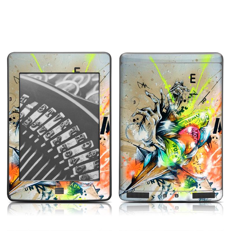 Dance Amazon Kindle Touch Skin