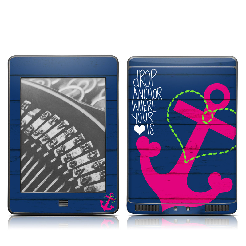 Drop Anchor Amazon Kindle Touch Skin