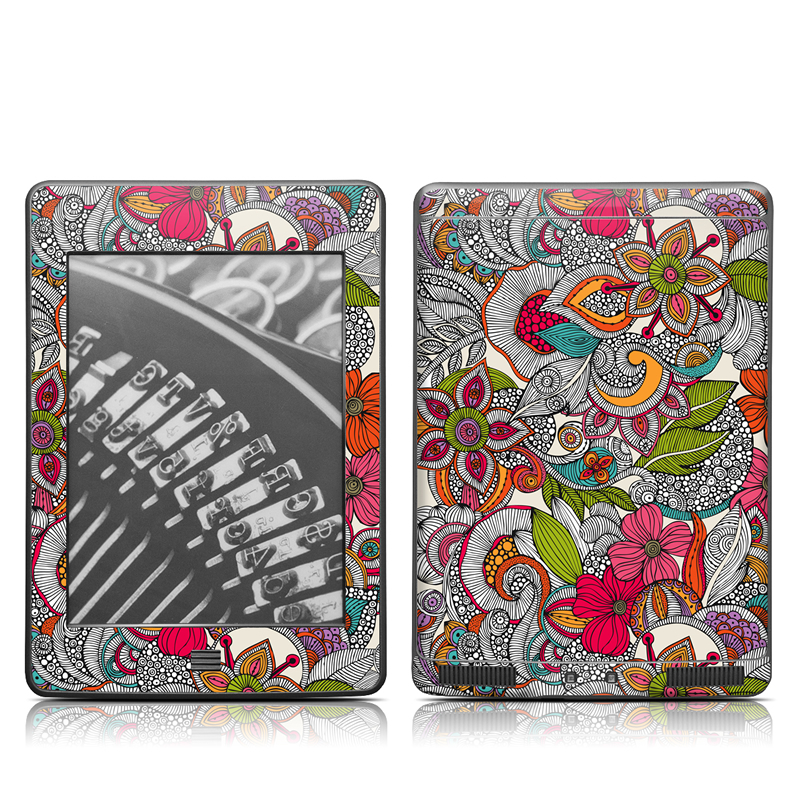 Doodles Color Amazon Kindle Touch Skin