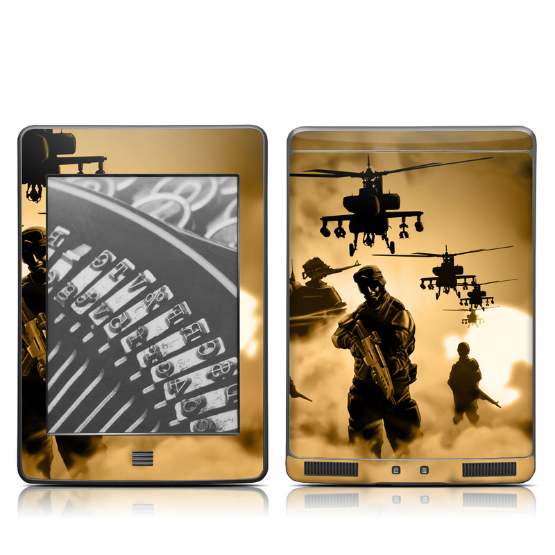 Desert Ops Amazon Kindle Touch Skin
