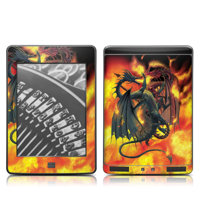 Dragon Wars Amazon Kindle Touch Skin