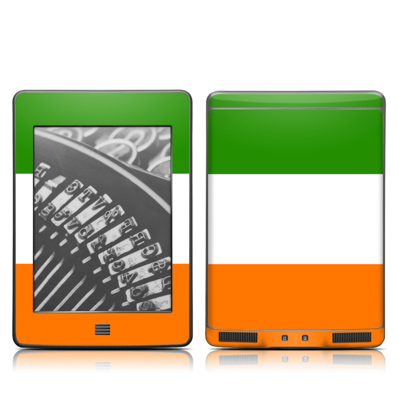 Irish Flag Amazon Kindle Touch Skin