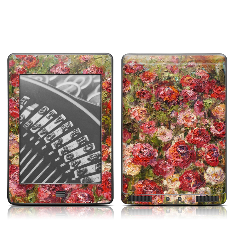 Fleurs Sauvages Amazon Kindle Touch Skin