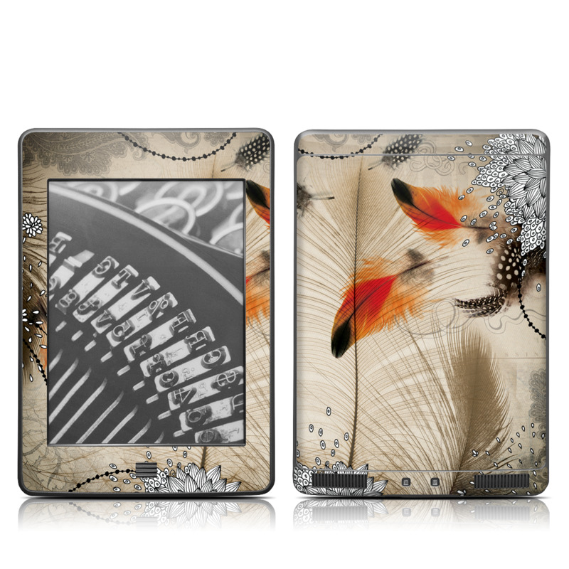 Feather Dance Amazon Kindle Touch Skin