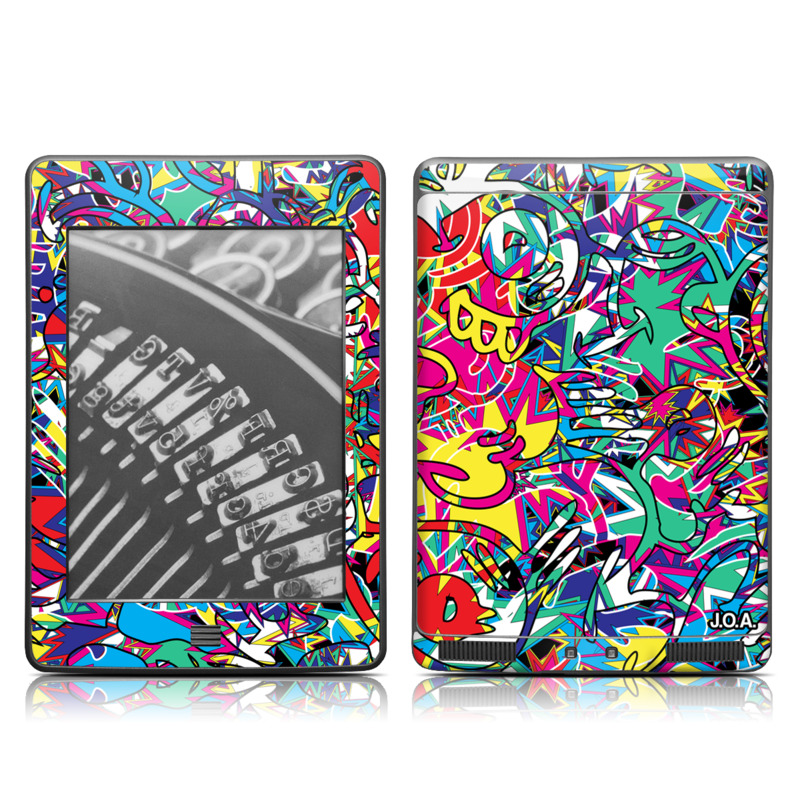 Graf Amazon Kindle Touch Skin
