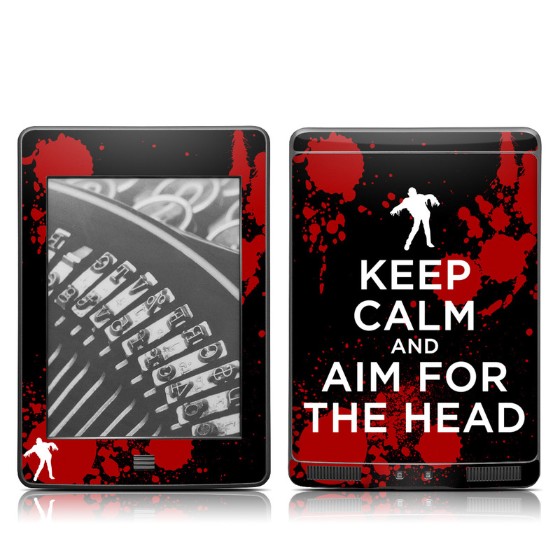 Zombie Amazon Kindle Touch Skin