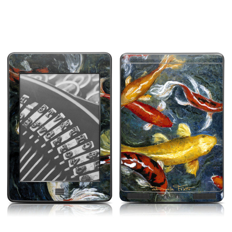 Koi's Happiness Amazon Kindle Touch Skin