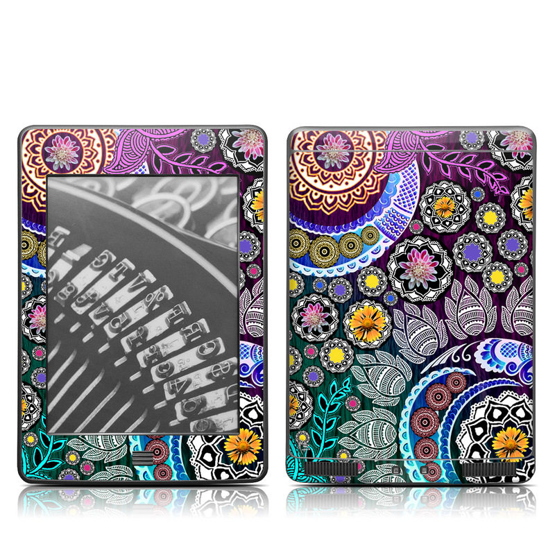Mehndi Garden Amazon Kindle Touch Skin
