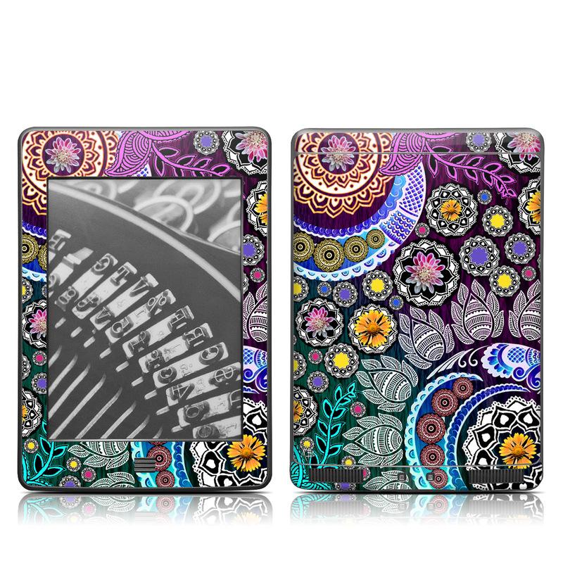 Mehndi Garden Amazon Kindle Touch Skin