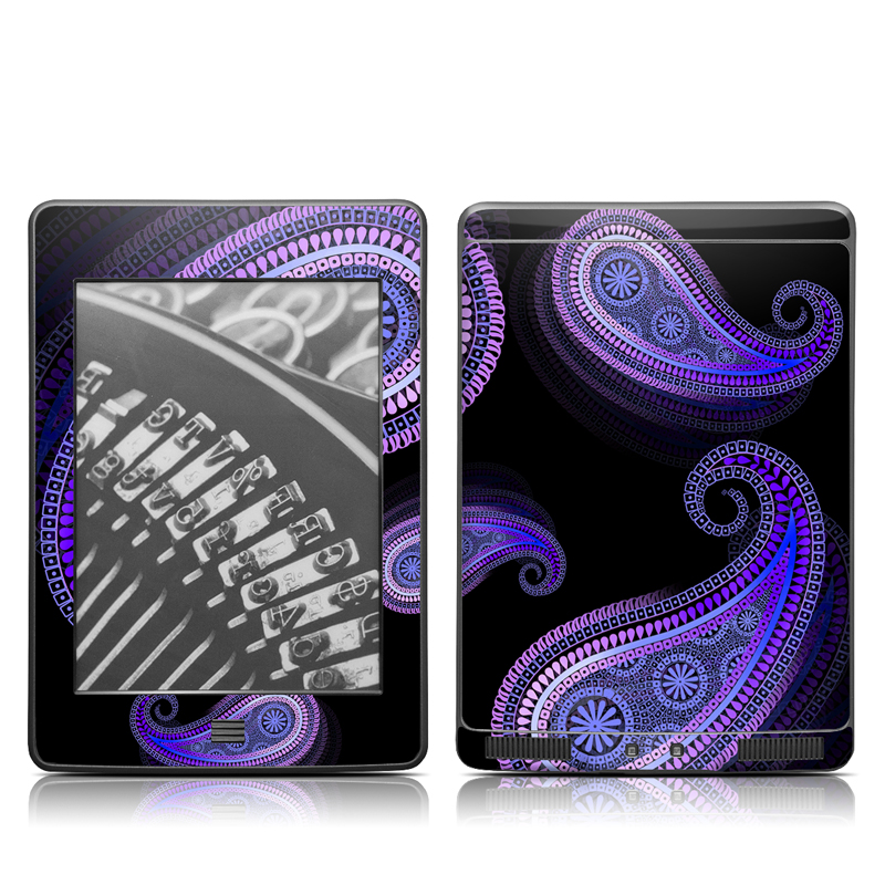 Morado Amazon Kindle Touch Skin