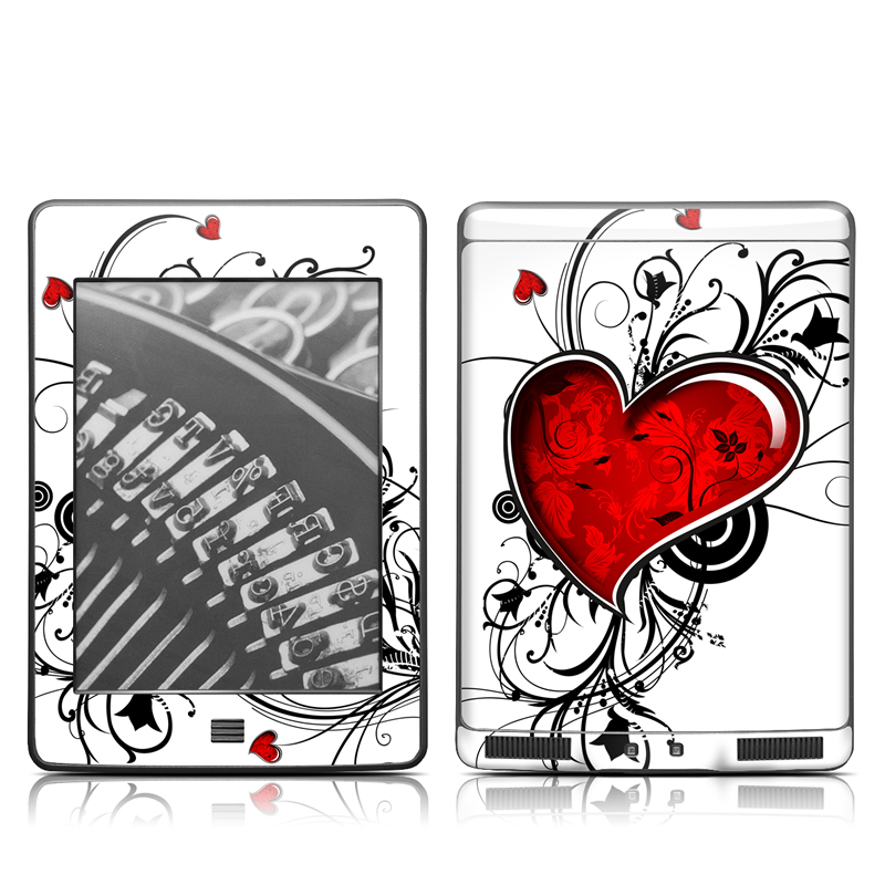 My Heart Amazon Kindle Touch Skin