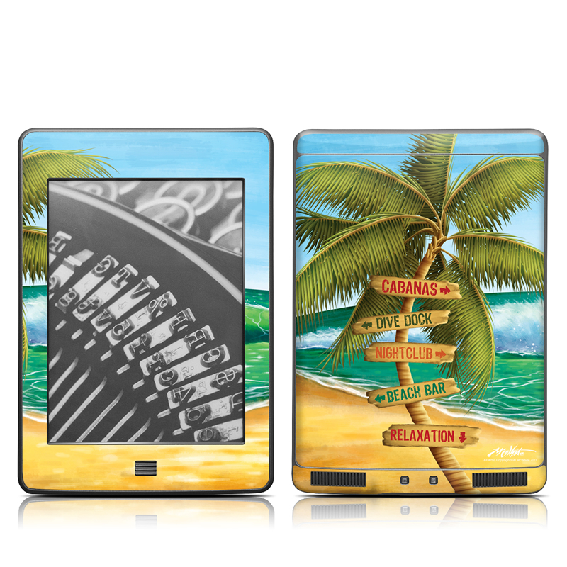 Palm Signs Amazon Kindle Touch Skin
