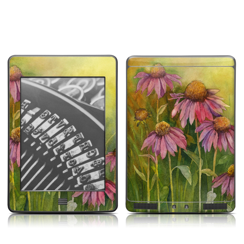 Prairie Coneflower Amazon Kindle Touch Skin
