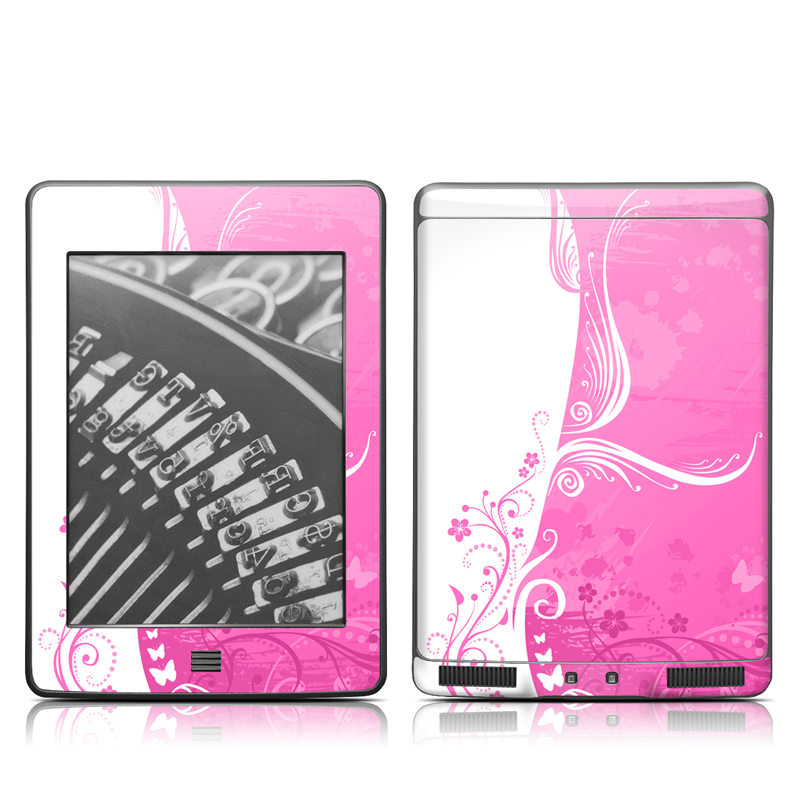 Pink Crush Amazon Kindle Touch Skin