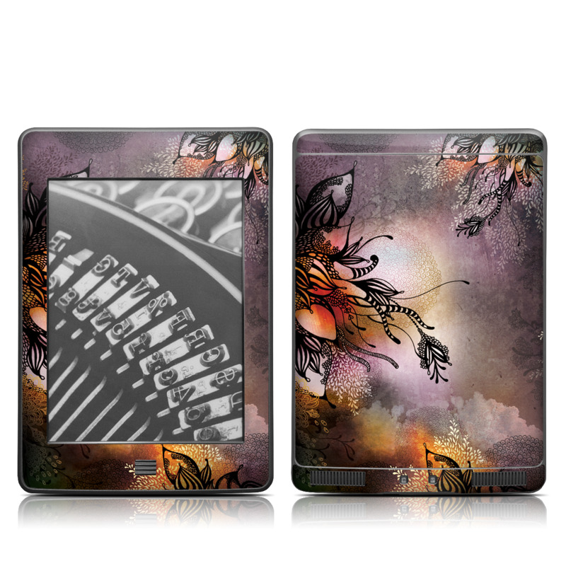 Purple Rain Amazon Kindle Touch Skin