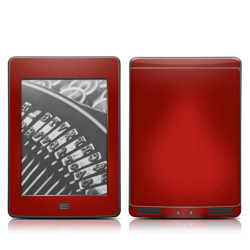 Red Burst Amazon Kindle Touch Skin