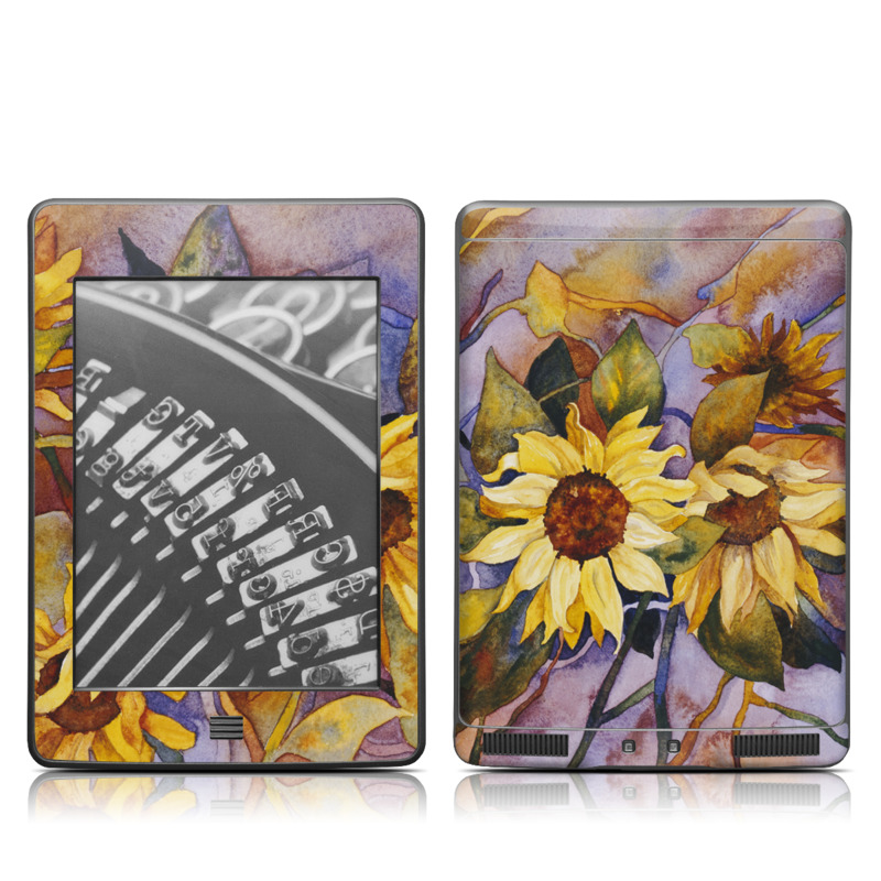 Sunflower Amazon Kindle Touch Skin