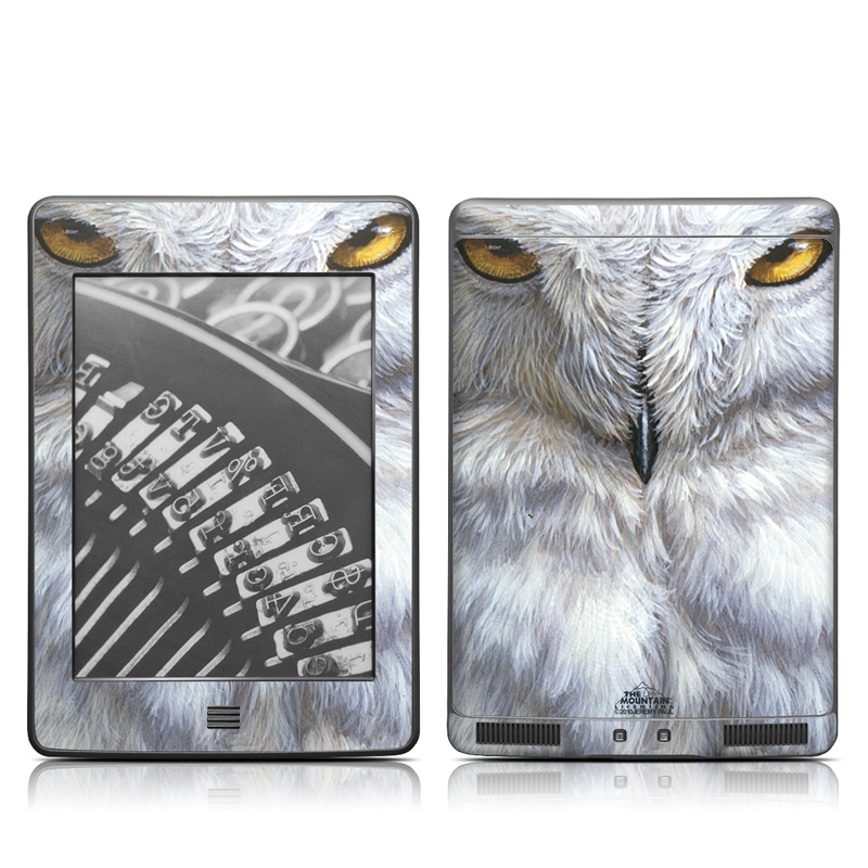 Snowy Owl Amazon Kindle Touch Skin