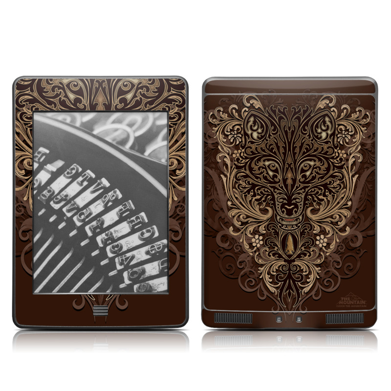 Spanish Wolf Amazon Kindle Touch Skin