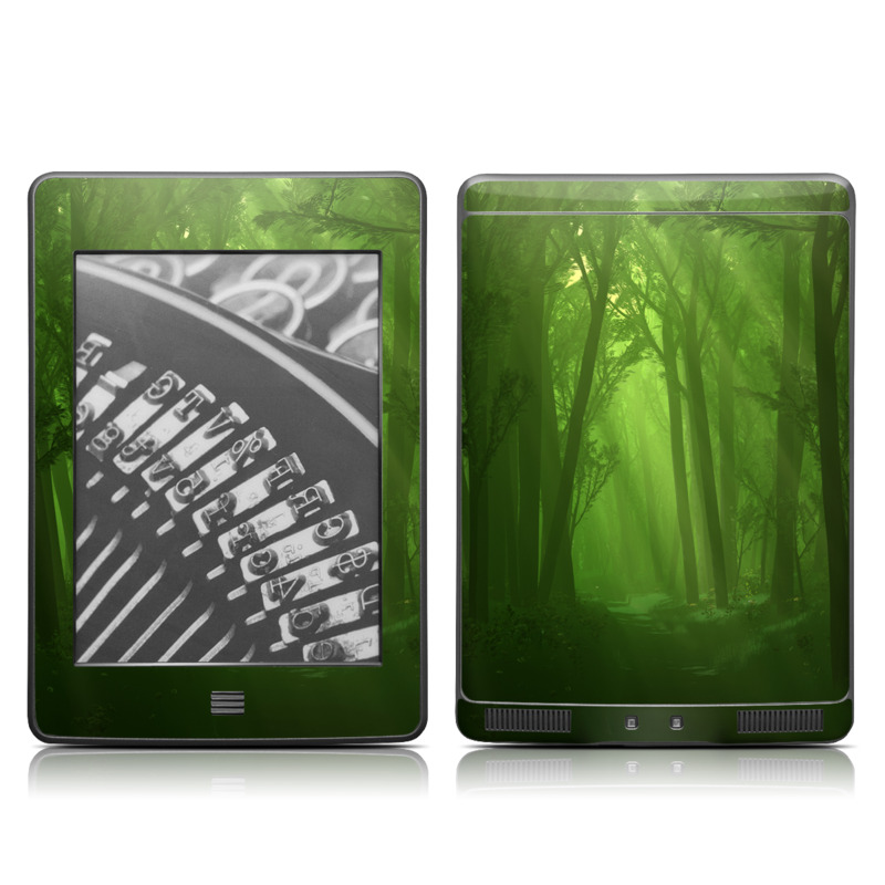Spring Wood Amazon Kindle Touch Skin