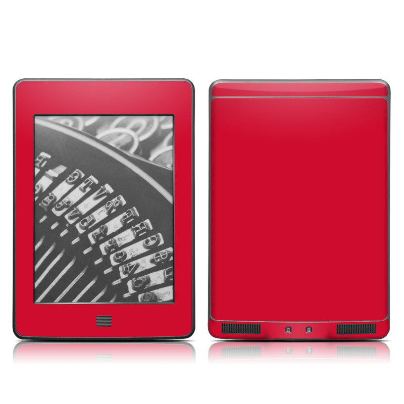 Solid State Red Amazon Kindle Touch Skin