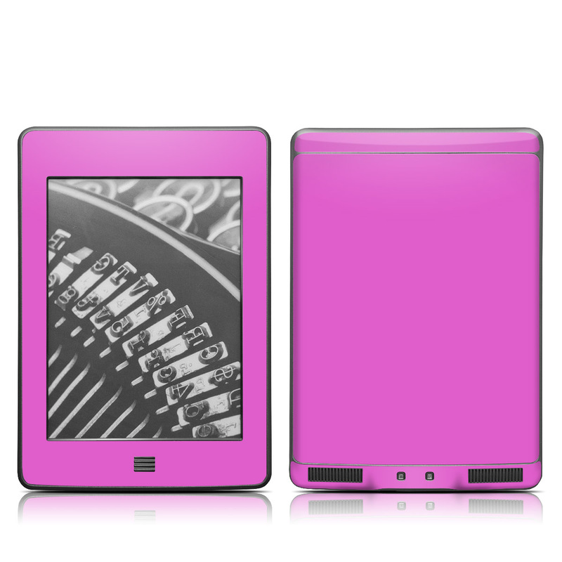 Solid State Vibrant Pink Amazon Kindle Touch Skin