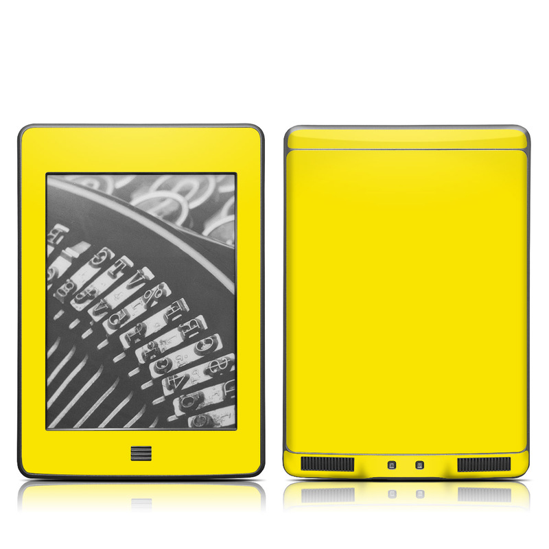 Solid State Yellow Amazon Kindle Touch Skin