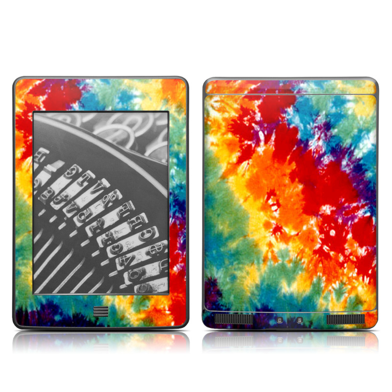 Tie Dyed Amazon Kindle Touch Skin