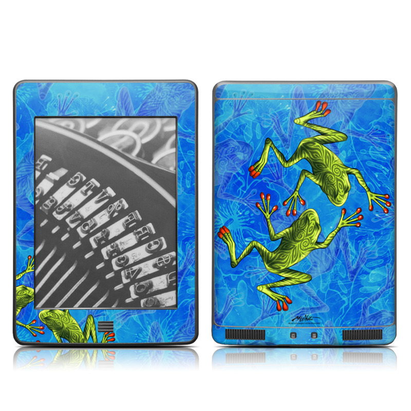 Tiger Frogs Amazon Kindle Touch Skin