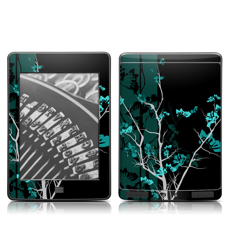 Aqua Tranquility Amazon Kindle Touch Skin
