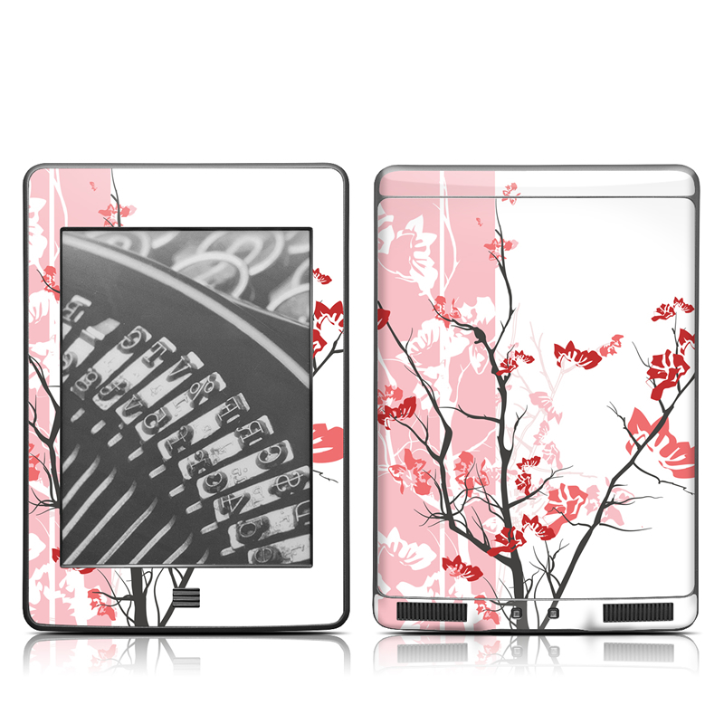 Pink Tranquility Amazon Kindle Touch Skin