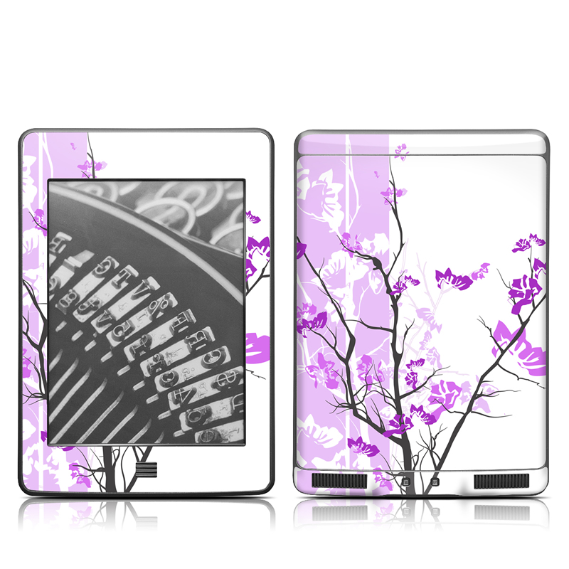 Violet Tranquility Amazon Kindle Touch Skin