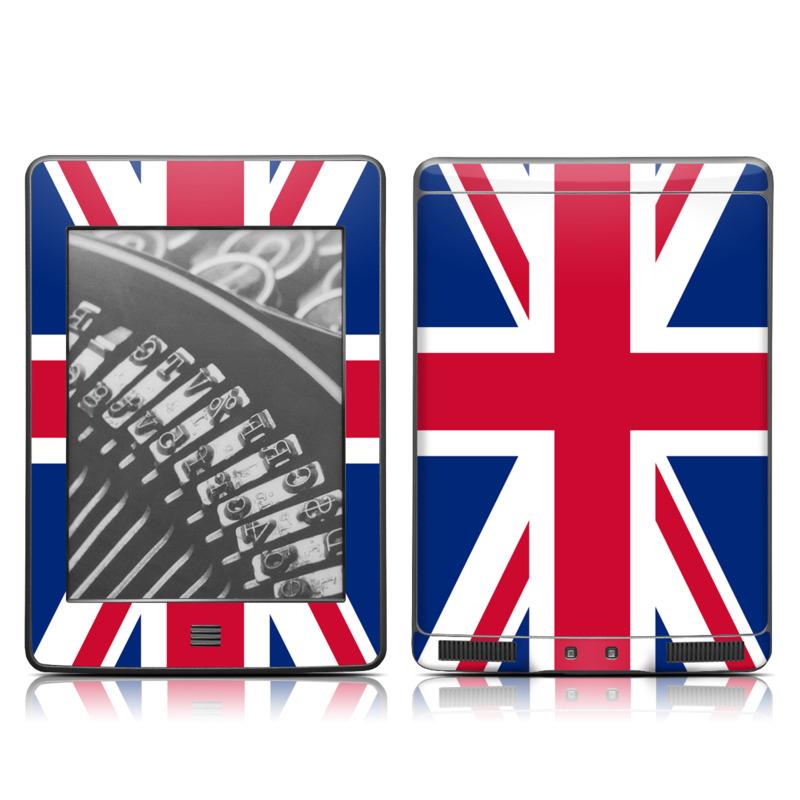 Union Jack Amazon Kindle Touch Skin