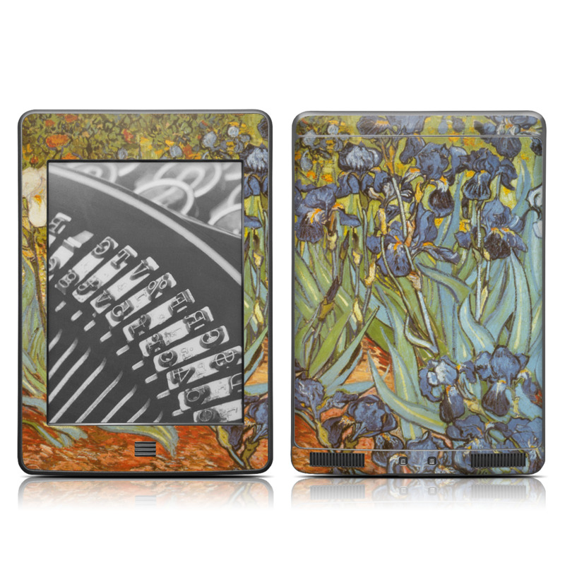 Irises Amazon Kindle Touch Skin