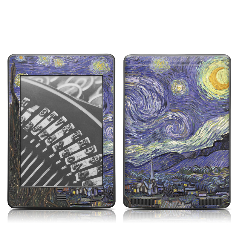 Starry Night Amazon Kindle Touch Skin