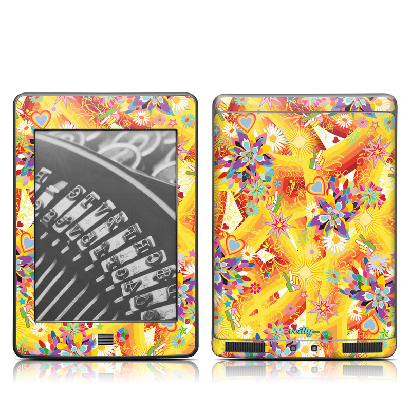 Wall Flower Amazon Kindle Touch Skin