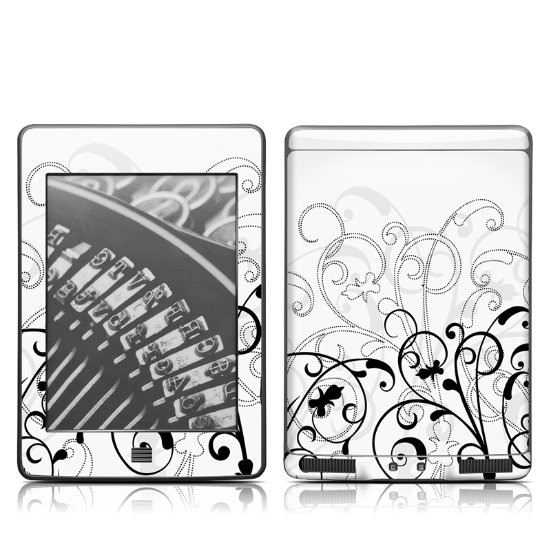 W&B Fleur Amazon Kindle Touch Skin