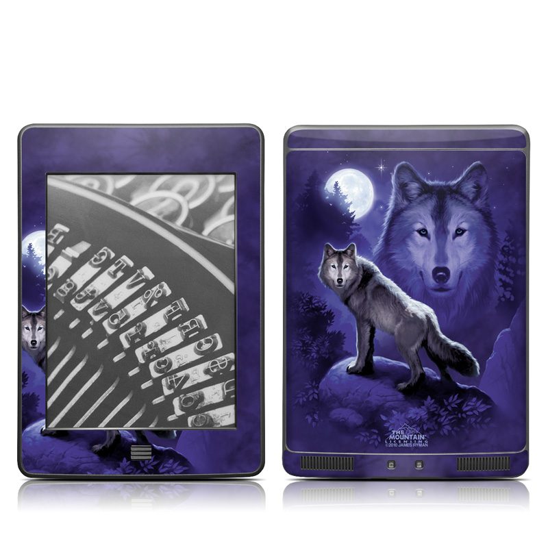 Wolf Amazon Kindle Touch Skin