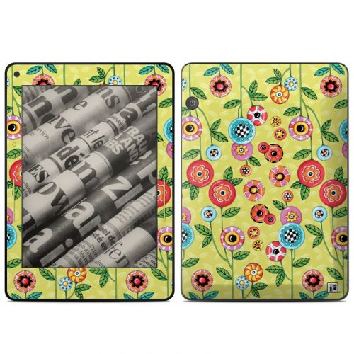 Button Flowers Amazon Kindle Voyage Skin