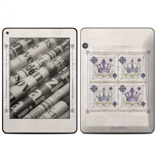 Purple Crown Amazon Kindle Voyage Skin