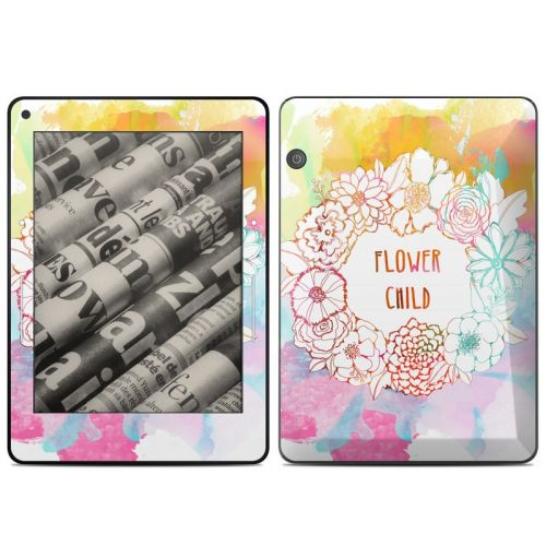 Flower Child Amazon Kindle Voyage Skin