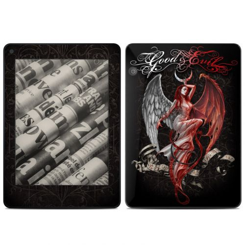 Good and Evil Amazon Kindle Voyage Skin