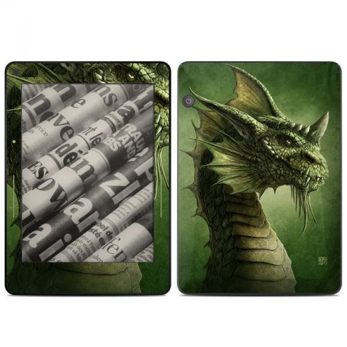 Green Dragon Amazon Kindle Voyage Skin